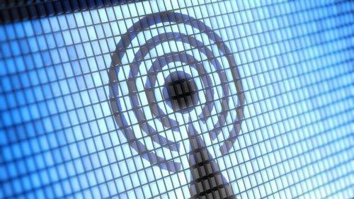 Значок беспроводного передатчика данных