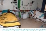 Пострадавшие от химического оружия в Сирии. Кадр сирийского телевидения / САНА