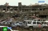 Разрушения после торнадо в городе Мур, Оклахома. Кадр НТВ