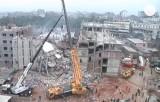 Спасательная операция на месте обрушения в Бангладеш. Кадр Euronews