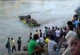 Автобус упал с моста в Индии. Кадр Euronews