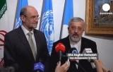 Представители Ирана на переговорах по ядерной программе в Вене. Кадр Euronews