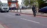 Зверское убийство военнослужащего в Лондоне. Кадр RT