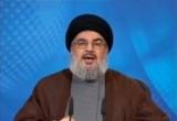 Шейх Хасан Насрулла - лидер Хезболлы. Кадр RTVi