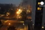 Беспорядки в Стокгольме. Кадр Euronews
