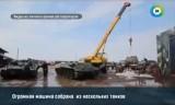 Реставрация танка Т-34. Кадр МТРК МИР