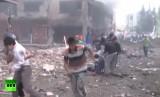 Первые кадры с места взрыва в Турции 11 мая 2013. Кадр RT