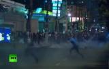 Беспорядки в Сан-Паулу, Бразилия. Кадр RT