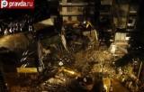 В Индии рухнуло здание. Кадр pravda.ru