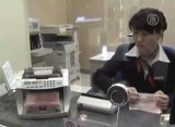 В Китайском банке. Кадр NTDTV