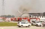 Пожар на китайской фабрике Баоюань. Кадр Euronews