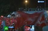 Митинг сторонников Эрдогана в Стамбуле. Кадр НТВ