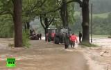 Наводнение в Европе. Кадр RT