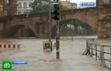 Наводнение летом 2013 года в Германии. Кадр НТВ