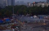 Разгон демонстраций в парке Гези, Стамбул. Кадр NTDTV
