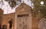 В Иерусалиме осквернили христианский храм. Кадр Euronews