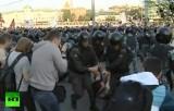 """Беспорядки на """"Марше миллионов"""" в мае 2012-го года. Кадр RT"""