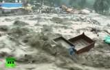 Ганг затопил север Индии. Кадр RT