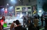 Акция против повышения цен в Сан-Паулу, Бразилия. Кадр RT
