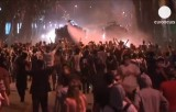 Акция протеста в парке Гези, район Таксим, Стамбул. Кадр Euronews