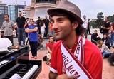 Пианист на площади Таксим в Стамбуле. Кадр NTDTV