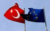 Флаги Турции и Евросоюза. Фото: Getty Images/Fotobank.ru