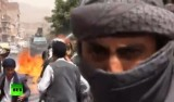 Уличное насилие в Йемене. Кадр RT