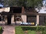 Сгоревший дом престарелых в Китае. Кадр NTDTV