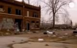 Руины Детройта. Кадр Euronews
