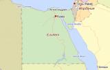 Египет на картах Яндекса