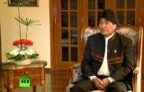 Президент Боливии Эво Моралес в эфире RT