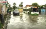 Затопленная станция Моссельмаш в Москве. Кадр LifeNews
