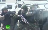 Военные учения ОДКБ в Ростовской области. Кадр RT