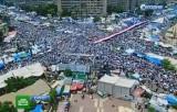 """Демонстрация """"Братьев-мусульман"""" в Каире. Кадр НТВ"""