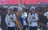 Праздничный парад в Северной Корее. Кадр РИА Новости