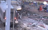 Железнодорожная авария под Парижем. Кадр Euronews
