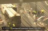 Крушение поезда в Испании. Кадр Euronews