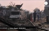 Последствия уличных войн в Египте. Кадр Euronews