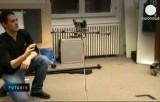 Беспилотник-квадрокоптер на испытаниях. Кадр Euronews