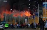 Пожар в аэропорту Найроби. Кадр RT
