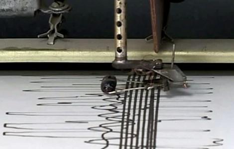 Сейсмограф регистрирует землетрясение. Фото: vesti.ru