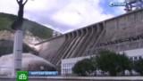Сброс воды на Зейской ГЭС. Кадр НТВ