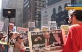 Американцы против войны с Сирией. Кадр РИА Новости