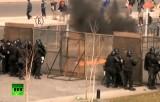 Протест против сланцевого газа в Аргентине. Кадр RT