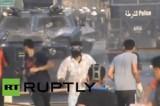 Беспорядки в Бахрейне. Кадр RT