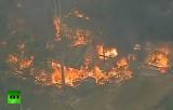 Огонь вышел из леса и начал поглощать Сидней, Австралия. Кадр RT