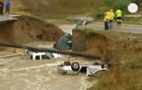 Наводнение в штате Колорадо, США. Кадр Euronews
