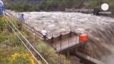Наводнение в Колорадо, США. Кадр Euronews