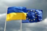 Флаги Украины и Евросоюза. Фото: prostil.com.ua