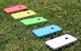 Разноцветные пластиковые смартфоны iPhone 5C. Фото: iphones.ru